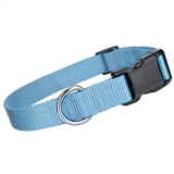nylon collar light blue