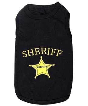 sheriff dog shirt