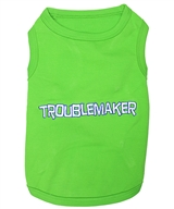 troublemaker dog shirt