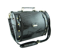 bora black pet carrier
