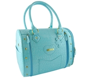 bora blue pet carrier