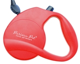 red retractable leash