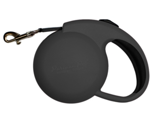 mini black retractable leash