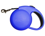 mini blue retractable leash