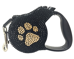 retractable leash  silver paw