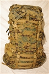 Main Pack - Gen II (with 3 straps, large zipper lid)