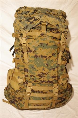 main pack gen ii with 3 straps large zipper lid rh ilbesurplus com usmc ilbe manual pdf USMC ILBE Main Pack