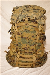 Main Pack - Gen II (with 5 strap, small zipper lid)