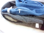 Zippered SnuggleHose CPAP Hose Cover - Choose Medium Blue or Charcoal
