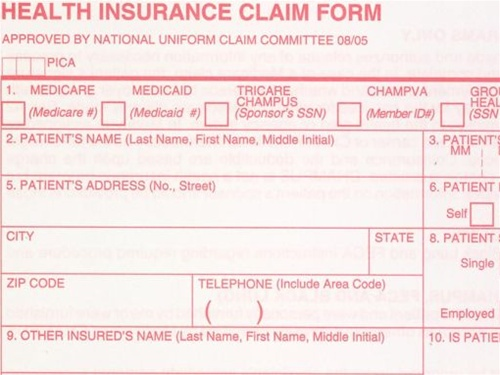 Free Insurance Claim Form For Cpap Equipment