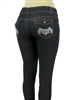 wholesale denim jeans EPS-234 Black