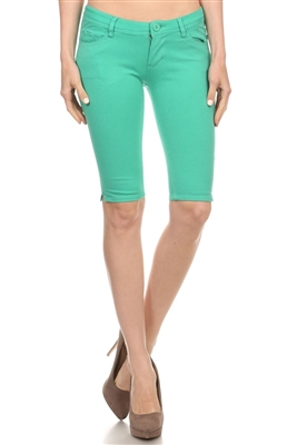 wholesale Ponte Bermudas LRB-02-Green