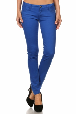 Wholesale Pants Basic 5 Pockets NSP-111-Royal