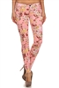 Wholesale Floral Pants NSP-516 Pink