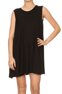 Loose fit dresses SLD-2002 Black