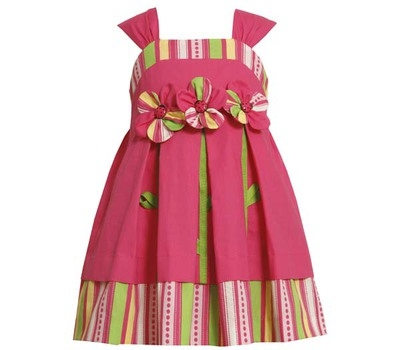 Bonnie Jean Pink dress