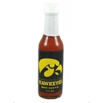 Collegiate Football Hot Sauce - Iowa Hawkeyes