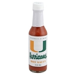 Collegiate Football Hot Sauce - Miami Hurricanes
