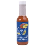 Collegiate Football Hot Sauce - Kansas Jayhawks