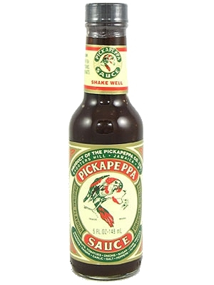 Pickapeppa Brown Hot Sauce
