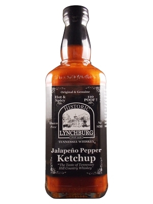 Historic Lynchburg Tennessee Whiskey Jalapeno Pepper Ketchup
