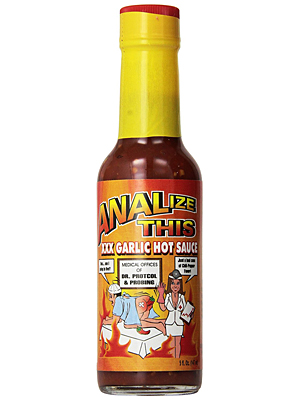 Analize This XXX Garlic Hot Sauce