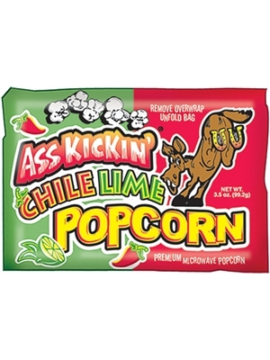 Ass Kickin Chile Lime Popcorn