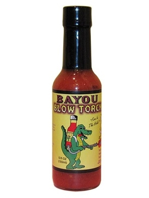 Bayou Blow Torch Hot Sauce