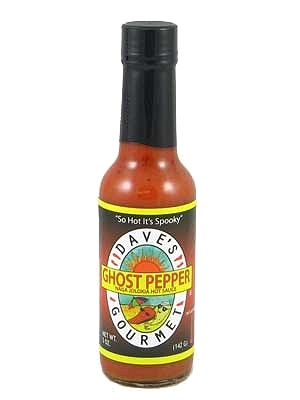 Dave's (NEW) Ghost Pepper Naga Jolokia Hot Sauce