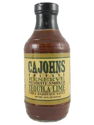Cajohn's Mesquite Smoked Tequila Lime Chile Barbeque Sauce
