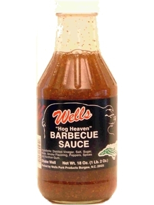 Wells Hog Heaven Barbecue Sauce