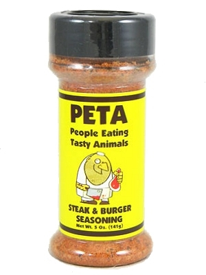 PETA (People for Eating Tasty Animals) Steak & Burger Seasoning