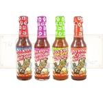 Ass Kickin Hot Sauce 4 Pack