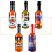 Santa, Rudolph and Frosty Complete Hot Sauce Holiday Gift Set