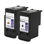 Canon PG240xl & CL241 Combo Pack Of 2 Ink Cartridges: 1 Black PG240xl, 1 Color CL241
