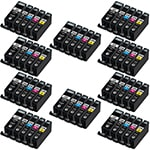Canon PGI-225 ink,CLI-226 Compatible Set of 50 Ink Cartridges