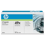 Hewlett Packard HP 49X High Capacity Laser Toner Cartridge, Black,Genuine,