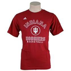 ADIDAS Crimson Sideline Basketball T-Shirt