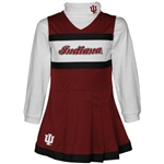 ADIDAS Indiana IU Girls Jumper Turtleneck Jumper Set