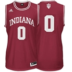 ADIDAS Crimson Youth Basketball Replica #0 Indiana Jersey