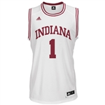 Youth ADIDAS White Basketball Replica #1 Indiana