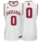 ADIDAS White Youth Basketball Replica #0 Indiana Jersey