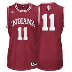 ADIDAS Crimson Men's Basketball Replica #11 Indiana Jersey