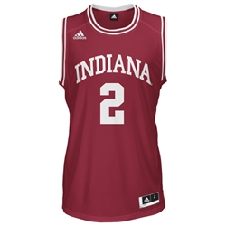 ADIDAS Crimson Men's Basketball Replica #2 Indiana Jersey