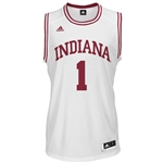 ADIDAS White Men's Basketball Replica #1 Indiana Jersey