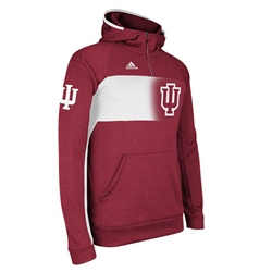 ADIDAS Crimson IU Sideline Climawarm Player Hooded Jacket