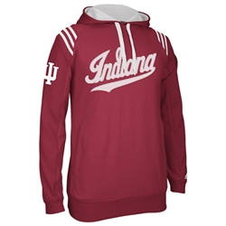 ADIDAS Crimson Indiana 3-Stripe Pullover Hooded Jacket