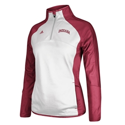 ADIDAS Womens INDIANA Elite Training 1/4 Zip Jacket