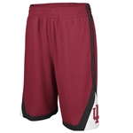 "ADIDAS ""Court"" Crimson Indiana ""IU"" Athletic Shorts"