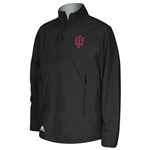 ADIDAS Black IU Jacket Full Zip Fleece Lined Jacket